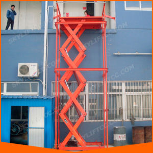 Stationary Hydraulic Car Lift Scissor Table for Sale pictures & photos