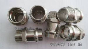 Stainless Steel Pipe Fitting 316 Knurling Fitting pictures & photos