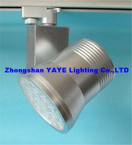 Yaye CE/RoHS Approved 18W LED Track Light / LED Track Lamp with 3 Years Warranty pictures & photos