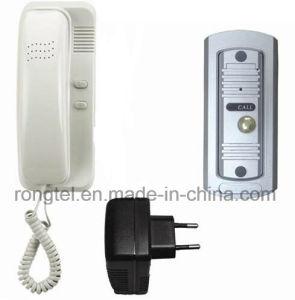 Audio Handset+Silver Metal Doorbell for Villa Intercom System pictures & photos