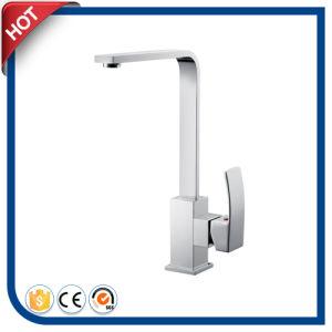 Brass Square Sink Faucetkitchen Faucet (FD019D-CCT)