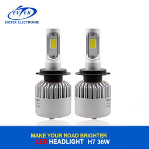 Low Price 36W 4000lm 6500k H7 S2 COB LED Head Lamp for Car Headlight Replacement pictures & photos