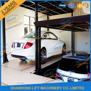 Fix on Ground Scissor Hydraulic Car Parking Lift for Sale pictures & photos