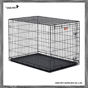 Lifestages Double Door Fold & Carry Dog Crates pictures & photos