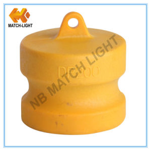 Sand Casting Nylon Dust Cap Type DC Camlock Coupling pictures & photos