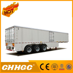 High Unloading Efficiency Van Type Semi-Trailer