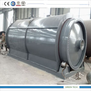 Waste Tire to Oil and Carbon Black Recycling Machine pictures & photos