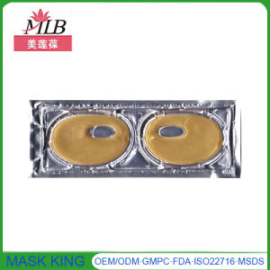 Wholesale Cosmetics Beauty Products Collagen Crystal Gel Anti Dark Circle 24k Gold Eye Mask pictures & photos