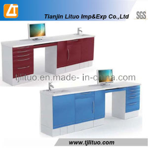 New Style Corner Tyle Medical Metal Dental Cabinet pictures & photos