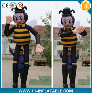 2016 Newwest Inflatable Moving Cartoon Inflatable Bumble Bee with Long Legs for Advertising pictures & photos