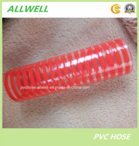 PVC Flexible Spiral Reinforced Water Garden Hose Pipe Suction Hose pictures & photos