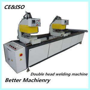 Double Head UPVC Window Profile Welding Machine