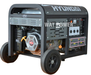 Diesel Generating Set Single or Three-Phase Portable Gasoline Generator Set pictures & photos