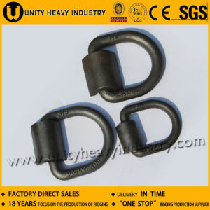 36 T Forged Container Lashing D Ring with Bracket pictures & photos