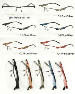 Popular Wholesale Stock Metal Eyewear Eyeglass Optical Glasses Frame Sr1470 pictures & photos