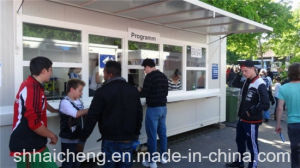 Container Ticket Lobby with Folded Awning (shs-fp-commercial005) pictures & photos