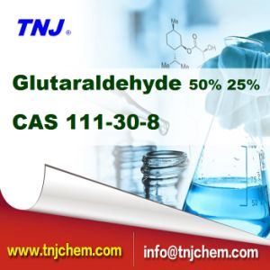 Good Quality Glutaraldehyde 50% CAS 111-30-8 From China Factory with Competitive Price pictures & photos