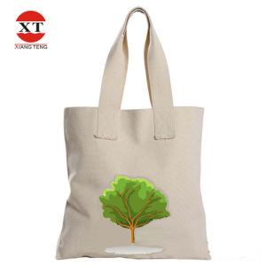 Eco-Friendly White Canvas Leisure Bag  (FLY-FB20011) pictures & photos