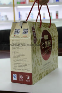 High Quality Handmade Paper Box with Rope Handles pictures & photos