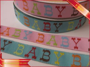 Kids Clothing Woven Tape Cotton Jacquard Tape pictures & photos