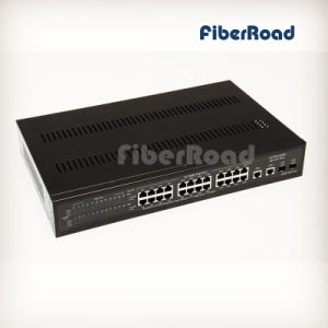 24 Ports 10/100base-T with 2 Gigabit Tp/SFP Ports Combo Managed Web Smart Poe Switch (FR1024GSW-AF)