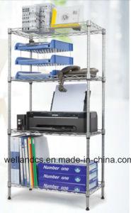 DIY Chrome Metal Wire Book Rack (CJ12035180A4C) pictures & photos