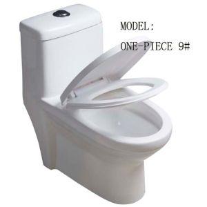 Single Piece Ceramic Toilet Super Siphonic pictures & photos