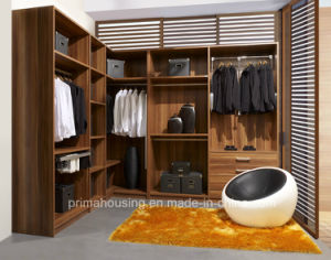 MDF Melamine Cloakroom Modern Matte Walk-in Closet pictures & photos