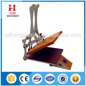 Small Size Single Platform Manual Heat Press Transfer Machine pictures & photos