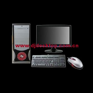 Low Price and Best Quality Computer PC DJ-C002 with 17 Inch LCD Monitor pictures & photos