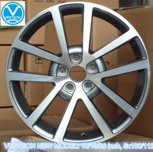 Car Alloy Wheels with ISO, DOT, CE, Via pictures & photos