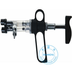 Double-Barreled Continuous Syringe (SY101) pictures & photos