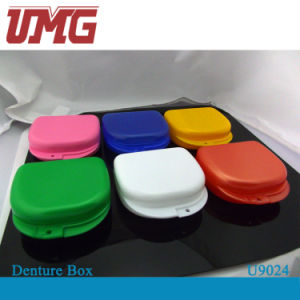 Colorful Dental Denture Retainer Box, Tooth Box, Dental Instrument pictures & photos