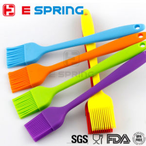 Silicone Brush&Scraper Cream Butter Cake Spatula Mixing Batter Scraper Brush Butter Mixer Cake Brushes Baking Tool pictures & photos