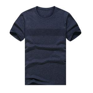 2017 New Plain Black Cotton T-Shirts, T-Shirt for Men pictures & photos