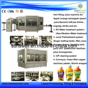 Automatic Filling Machinery for Orange Juice Plant pictures & photos