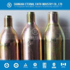 Made in China 8g 16g 33G 60g CO2 Cartridges CO2 Gas Cylinder pictures & photos