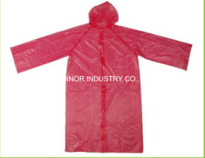 Transparent Breathable Raincoat/Waterproof Rainsuit/Disposable Plastic Rain Poncho pictures & photos