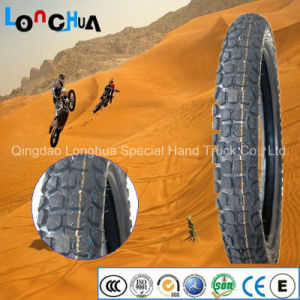 Natural Rubber New Pattern Motorcycle Tyre with Competitive Price pictures & photos