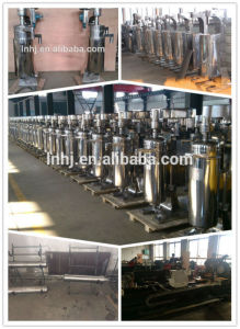 Fast Rotate VFD Controlled Coconut Oil Extract Cold Process Machine pictures & photos