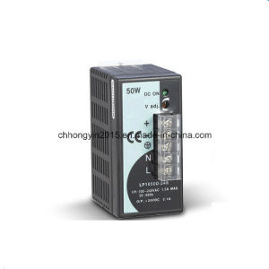 50W Single Output LED Display DIN-Rail Power Supply pictures & photos