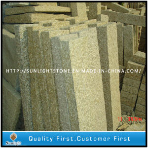 G682 Yellow Granite Fence Stone Block Paving Palisade for Garden pictures & photos