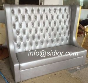 (SD-4009) Chesterfield Wooden Leather Hotel Restaurant Furniture pictures & photos