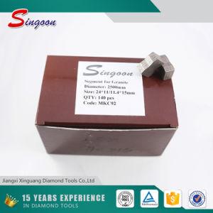 Granite Cutting Diamond Segment for 2500mm Diamond Blade pictures & photos