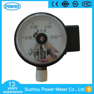 100mm Black Steel Case Vacuum Electric Contact Pressure Gauge pictures & photos