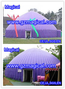 Outdoor Event Purple Inflatable Bubble Dome Tent (MIC-714) pictures & photos