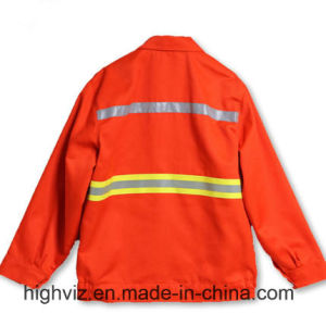 High Visibility Safety Jacket for Cleaning Workers (C2406) pictures & photos