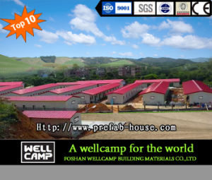 Economic Mobile Modular Prefab House for Labor Camp pictures & photos