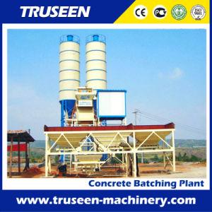 Hzs35 Concrete Batching Plant with High Quality Mixer Construction Machine pictures & photos
