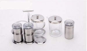 Stainless Steel 5-PCS Spice Rack Set (CS-046) pictures & photos